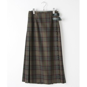 INGEBORG / インゲボルグ オリジナルビエラチェックキルトスカート