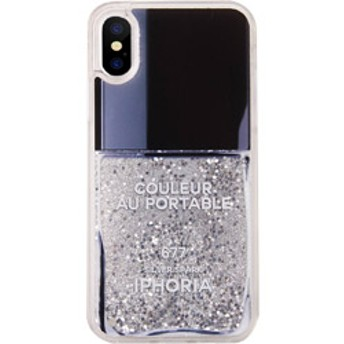 Liquid Case for Apple iPhone X/XS - Nail Polish Grey 15198