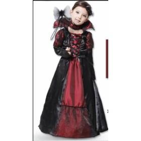 ハロウィン衣装サンタクリスマスコスチューム変装赤ずきん吸血鬼巫女チュール悪魔女王女の子子供用 化粧パーティーグッズ cosplay