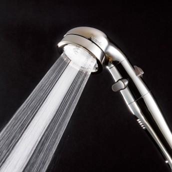 手元ストップ節水シャワーヘッド プロ・プレミアム(ステンレスコート スカルプケアモデル)ステンレス