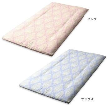 メリーナイト 日本製 綿100% 敷き布団カバー セレナーデ シングル 105×205cm