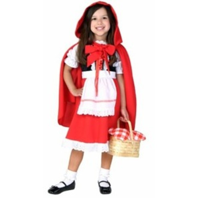 ハロウィン ベビーコスチューム キッズ 赤ずきん かわいい お呼ばれ アニバーサリー 1歳 2歳 3歳 4歳 女児キッズ 女の子 コスプレ