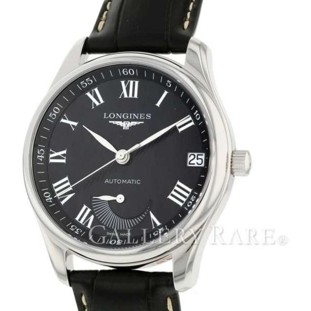 872c8da5ab ロンジン マスターコレクション パワーリザーブ L2.666.4.51.7 LONGINES 腕時計 ウォッチ アリゲーターレザー