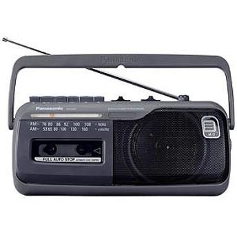 パナソニック (ワイドFM対応)ラジカセ(ラジオ+カセットテープ) RX-M45-H