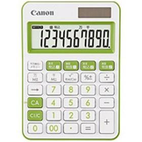Canon カラフル電卓(10桁) ミニ卓上 LS-105WUC-GR