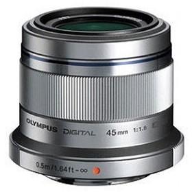 オリンパス 90mm相当(35mm判換算) M.ZUIKO DIGITAL 45mm F1.8 45MM F1.8 (シルバー)