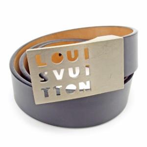 【送料無料】 Louis Vuitton T12897 レディース ルイヴィトン モノグラム 【中古】 ベルト サンチュールキャレ
