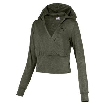 【プーマ公式通販】 プーマ SOFT SPORT ライトカバーアップ ウィメンズ Forest Night-heather  CLOTHING PUMA.com