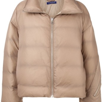 A.A. Spectrum puffer jacket - ブラウン