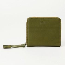 <マーガレット・ハウエル アイデア> 「ジャカナ」内BOXラウンドファスナー財布(MHLW8LS1) グリーン(60) 【三越・伊勢丹/公式】