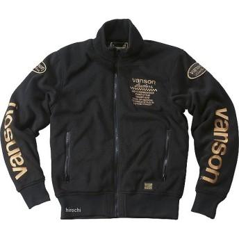VS18401W バンソン VANSON 2018年秋冬モデル フリースジャケット 黒/黄 Lサイズ JP店