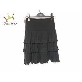 ヴィヴィアンタム VIVIENNE TAM スカート サイズ0 XS レディース 黒 フリル   スペシャル特価 20190625【人気】