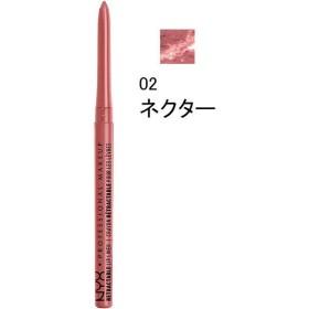 NYX Professional Makeup(ニックス) リトラクタブル リップライナー 02 カラー・ネクター