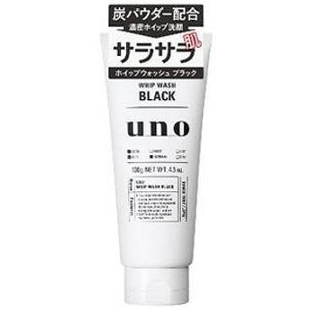資生堂化粧品 UNO(ウーノ) ホイップウォッシュ(ブラック)(130g)