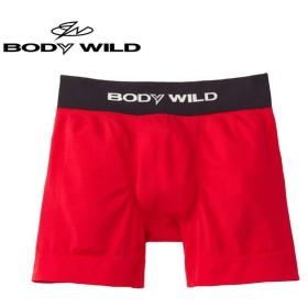セール GUNZE(グンゼ)/直営店限定 BODY WILD(ボディワイルド)/ボクサーパンツ(メンズ)紳士/BWS083A/M〜L