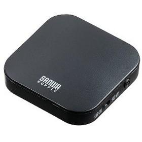 サンワサプライ Bluetoothオーディオトランスミッター&レシーバー MM-BTAD5