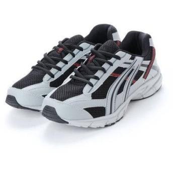 アースマーチ EARTH MARCH 万能スニーカー スポーツ ウォーキング 軽作業 運動靴 (GRAY)