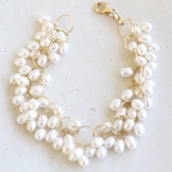 14KGF pearl bracelet[br2967]