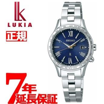 ルキア セイコー 電波 ソーラー エターナルブルー 限定モデル 腕時計 ペア レディース SSVV039