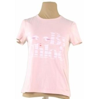 シーバイクロエ SEE BY CHLOE Tシャツ 服 レディース ロゴプレート 【中古】 F1250