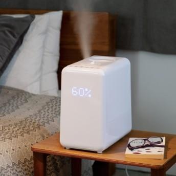アロマ対応 新ハイブリッド式加湿器ホワイト