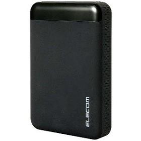 エレコム 外付HDD [USB3.0/1TB・Win] SeeQVault対応 ELP-QEN010UBK