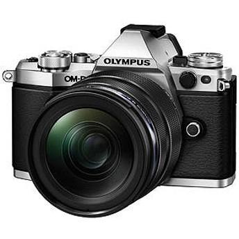 オリンパス ミラーレス一眼カメラ OM-D E-M5 Mark II シルバー(12-40mm F2.8 レンズキット)
