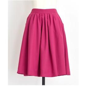 Noela スカラポケットスカート(ピンク)【返品不可商品】
