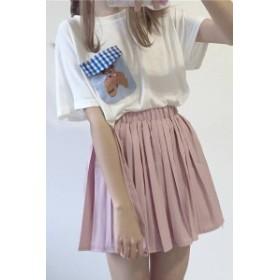 【送料無料】 細かめプリーツがラブリー プリーツスカート 全4色