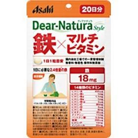 アサヒグループ食品 DNスタイルテツマルチビタミン60ニチ