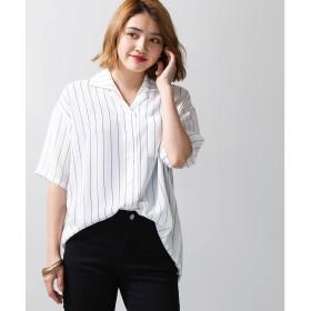 WEGO シアーBIGシャツ(S)(ホワイト系)