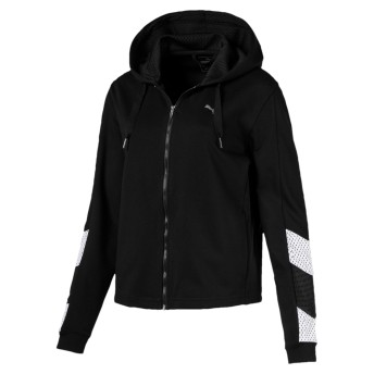 【プーマ公式通販】 プーマ A.C.E. スウェット ジャケット ウィメンズ Puma Black  CLOTHING PUMA.com