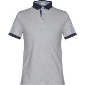 《セール開催中》HERITAGE メンズ ポロシャツ ライトグレー 46 コットン 95% / ポリウレタン 5%