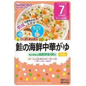 和光堂 グーグーキッチン 鮭の海鮮中華がゆ(80g)〔離乳食・ベビーフード 〕