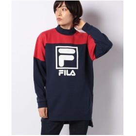 FILA スウェットワンピース(ネイビー)【返品不可商品】