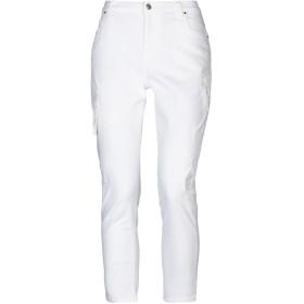 《セール開催中》ANNARITA N TWENTY 4H レディース パンツ ホワイト 25 コットン 98% / ポリウレタン 2% / ポリエステル