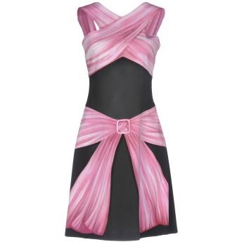 《期間限定セール開催中!》MOSCHINO レディース ミニワンピース&ドレス ピンク 42 レーヨン 97% / 指定外繊維 3%