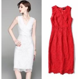 20代30代 シンプルで上品なキレイめスタイルひざ丈タイトドレス 送料無料 お呼ばれ 大人かわいい ワンピース 結婚式 ドレス 演奏会 20代