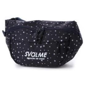 スボルメ SVOLME サッカー/フットサル バッグ 星柄ボディバッグ 183-92420 (ネイビー)