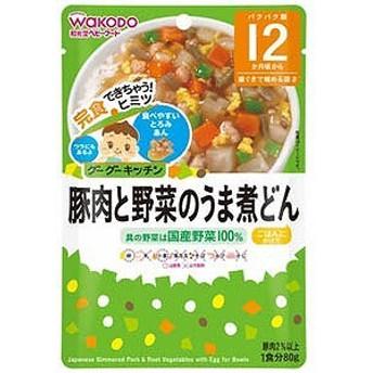 和光堂 グーグーキッチン 豚肉と野菜のうま煮どん(80g)〔離乳食・ベビーフード 〕