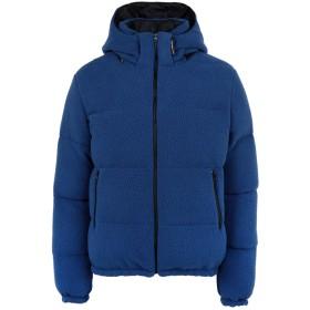 《期間限定セール開催中!》LC23 メンズ ダウンジャケット ブルー S ポリエステル 100%
