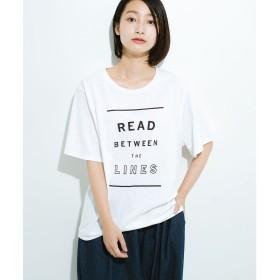 haco! haco!女の子バンザイプロジェクト【全期】 PBPオーガニックコットンの女子の気持ちを察してほしいよTシャツ(ホワイト)【返品不可商品】