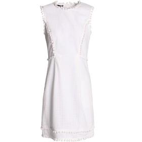 《期間限定 セール開催中》LOVE MOSCHINO レディース ミニワンピース&ドレス ホワイト 46 コットン 100%