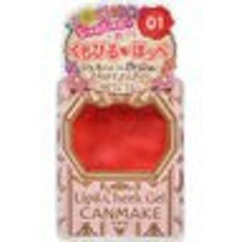キャンメイク リップ&チーク ジェル 01 ストロベリームース[CANMAKE(キャンメイク) リップカラー]