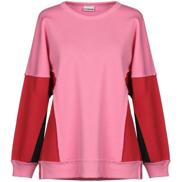 《セール開催中》NOISY MAY レディース スウェットシャツ ピンク XS ポリエステル 55% / コットン 45%