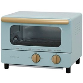 アイリスオーヤマ オーブントースター 「ricopa(リコパ)」 EOT-R1001-AA アッシュブルー
