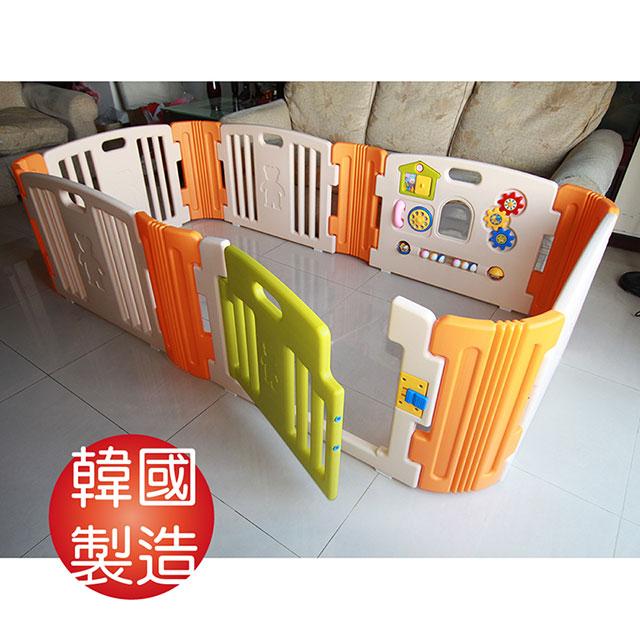 韓國【HAENIM TOY】日本設計、韓國製造 六片嬰兒安全圍欄 HNP-736