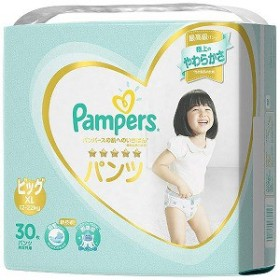 P&G Pampers(パンパース) 肌へのいちばん パンツ スーパージャンボ ビッグサイズ(12kg-22kg) 30枚