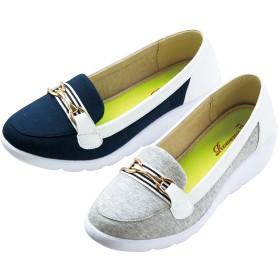 【格安-女性靴】レディース超軽量ウェッジソールカジュアルシューズ