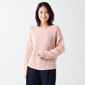 MIZUNO SHOP [ミズノ公式オンラインショップ] ブレスサーモVネックセーター[レディース] 60 ピーチピンク B2JC8761